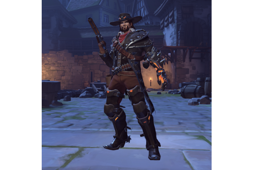 McCree - Van Helsing/Credit to: Blizzard Entertainment