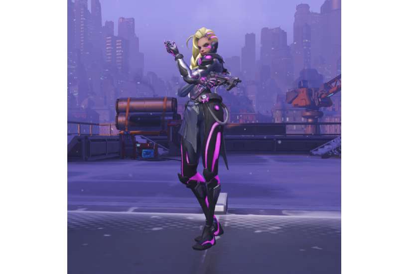 Sombra -  Augmented/Credit to: Blizzard Entertainment