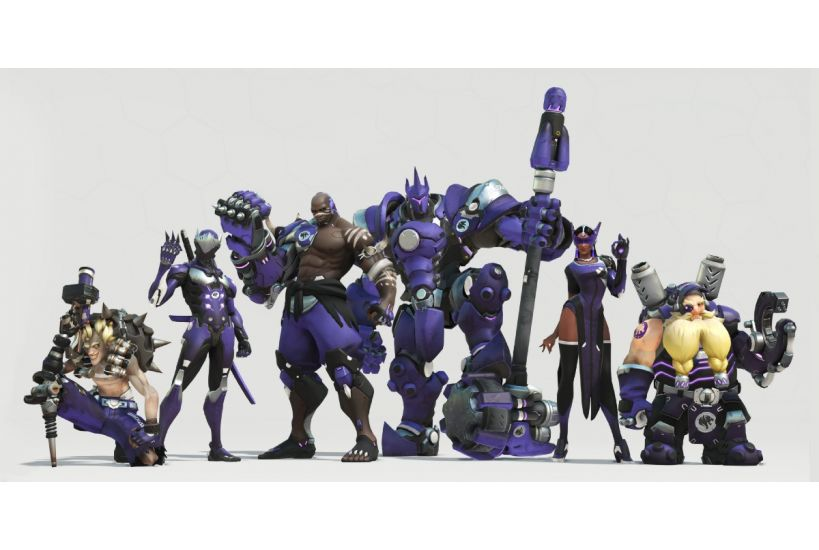 Los Angeles Gladiators - Lane 'Surefour' Roberts, Attacco; Joon-seong 'Asher' Choi, Attacco; João 'Hydration' Pedro Goes Telles, Attacco; Aaron 'Bischu' Kim, Flex; Luis 'iReMiix' Galarza Figueroa, Tank; Jonas 'Shaz' Suovaara, Supporto; Benjamin 'BigG00se' Isohanni, Supporto