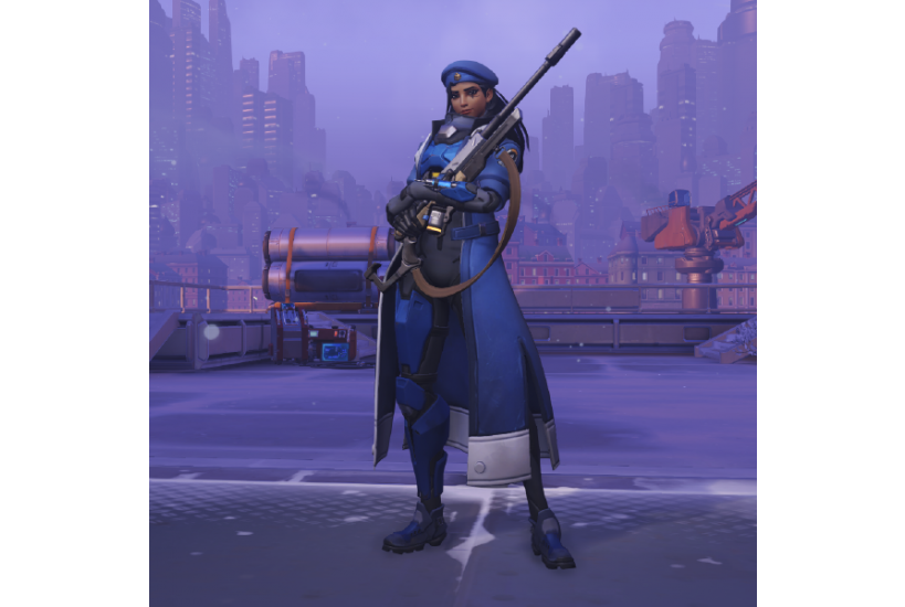 Ana - Capitan Amari/Credit to: Blizzard Entertainment