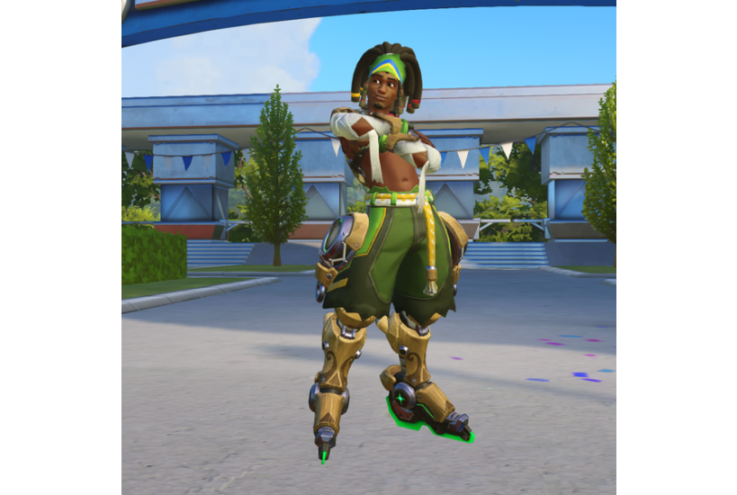 Lúcio - Capoeira/Credit to: Blizzard Entertainment