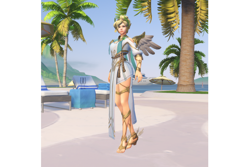 Mercy - Vittoria Alata/Credit to: Blizzard Entertainment