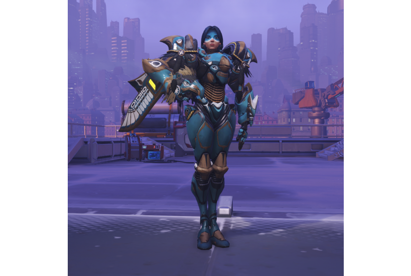 Pharah - Raindancer/Credit to: Blizzard Entertainment