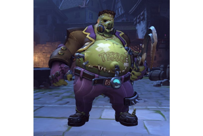 Roadhog - Mostro di Junkenstein/Credit to: Blizzard Entertainment