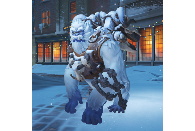 Winston - Yeti/Credit to: Blizzard Entertainment
